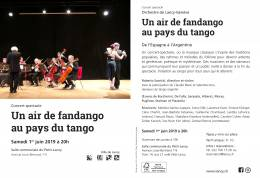 1er JUIN 2019 - SPECTACLE & MILONGA